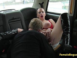 Bigtit Cabbie Cougar Tastes Clients Cum