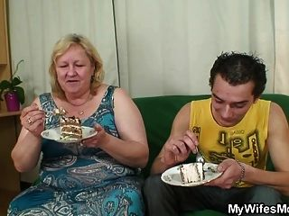 Lad Fucks Huge Old Not Mother-in-law