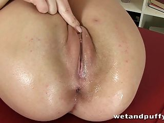 Babe Rubbing Her Pussy Until She Orgasms