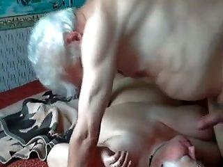 Old Couple Having Fun R20