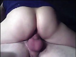 Mature Woman Gets Wet While Riding Husband