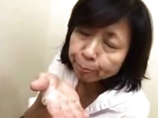 Japonese Mom Sucks And Gets His Ration Of Cream