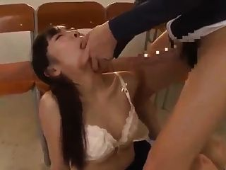 Hot Futanari Teacher Surprises Students