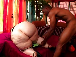 Pale Skin Pear Shaped Ssbbw Milf Vs Young Bbc