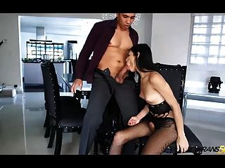 He cures bbw with his big cock