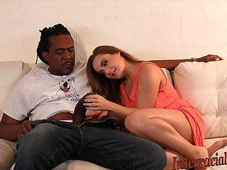 4k Natasha Takes Interracial Biggest Cock Ever!