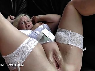 Granny Needed A Two Cock Seeing To