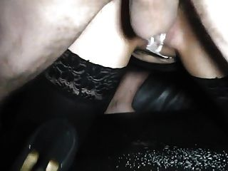 Gangbang With Tattoo Whore In Stockings