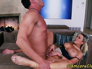 Busty Glamcore Babe Banged By Big Cock