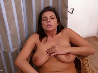 Busty Natural Mother Needs A Good Fuck