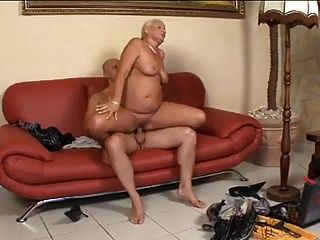Granny With Nice Tits , Ass And Pussy
