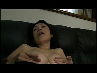 Jap Mom Working Her Old Body