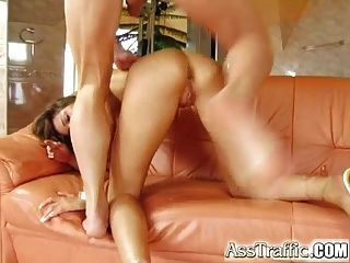 Ass Traffic Betty Gets A Dildo In Her Butt Followed By A Big