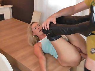 German Blonde Milf Is Cum Thirsty
