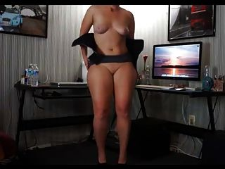 A Super Sexy Curvy Naked  Ass