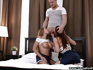 Young Sex Parties - Orchestrating A Threeway