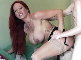 Taboo Busty Mothers Fuck Young Sons