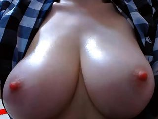 Big Natural Boobs Hard Pink Nipples
