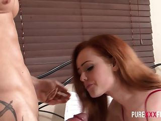 Naughty Ginger Stepdaughter