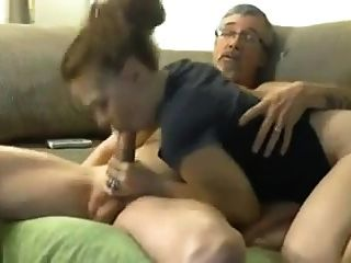 Wife Fingers Herself And Sucks Cock Of A Stranger