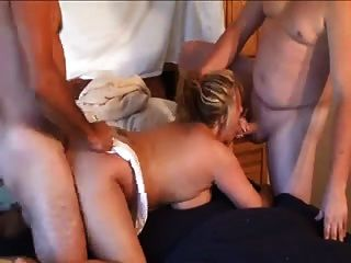 Mate & Husband Fucked Wife