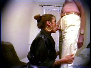 Im 1991 private whore traudl learns facefuck technics
