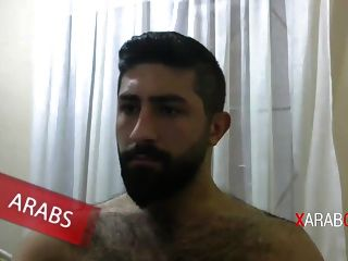 Hot Bearded Syrian Jerking Off - Arab Gay
