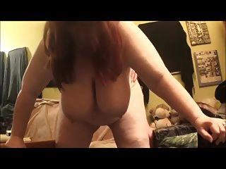 Chubby Slut Maya Fucked Standing