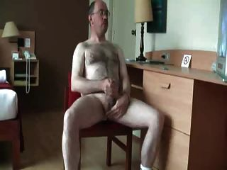Daddy Bear Jerk Of And Cum