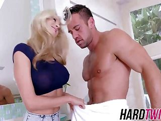 Amazing Katie Morgan Fucks In Bathroom
