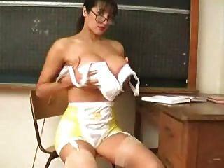 Rukhsana Teacher Play With Her Big Boobs