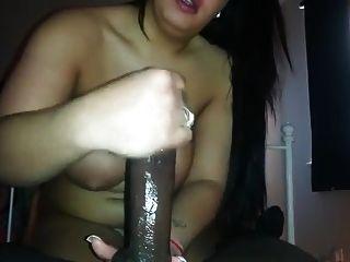 She Strokes Him Off 3