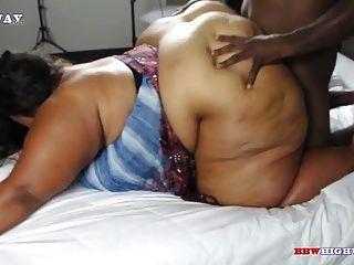 Ssbbw Redbone With A Huge Ass Getting Bbc Doggystyle