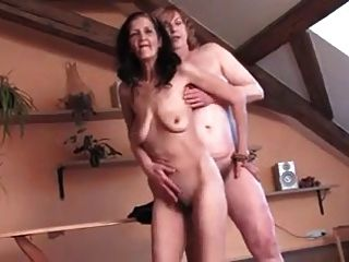 Skinny And Bbw Hairy Grannies Playing