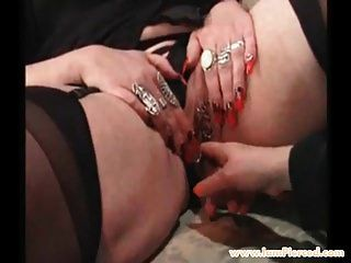 I Am Pierced Grannies Checking Each Others Pussy Piercings