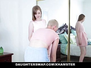 Daughterswap - Goth Cutie Fucked By Older Guys