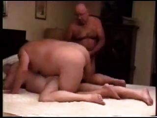 Three Mature Men Fucking