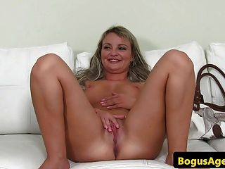 Euro Casting Amateur Doggystyled At Audition
