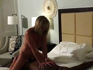 Husband Films Wife With Big Black Bull