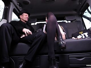 Fuckedintraffic - Katrina Grand Getting Her Hands On Cock
