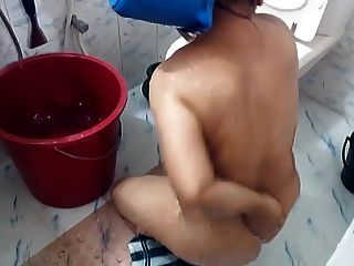 Arab Wife Shower 1