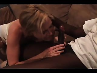Mature Gets Creampied By Huge Black Cock
