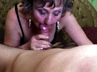 Real Love Between Granny And Young Kinky Boy