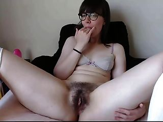 Pretty Brunette Masterbating And Taste Her Own Pussy