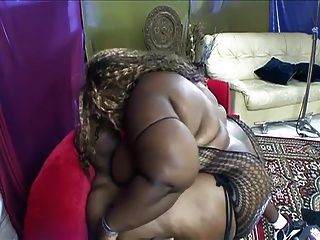 Curvaceous Big Tits, Ass  Ebony Hardcore