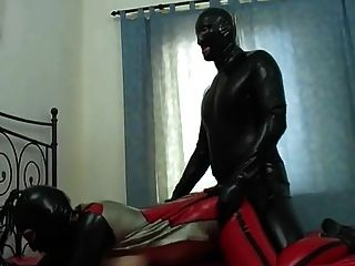 Couple Fuck In Full Latex Heavy Rubber