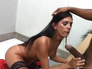Sexy Shemale Properly Fucked 2