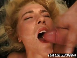 Amateur Teen Girlfriend Gangbang With Huge Facials