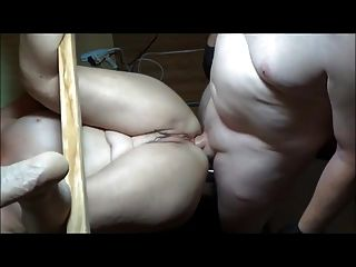 Anal Fucked While Her Pussy Squirting