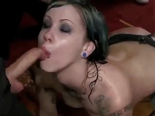 Emo Slut Is Humiliated And Fisted In Public